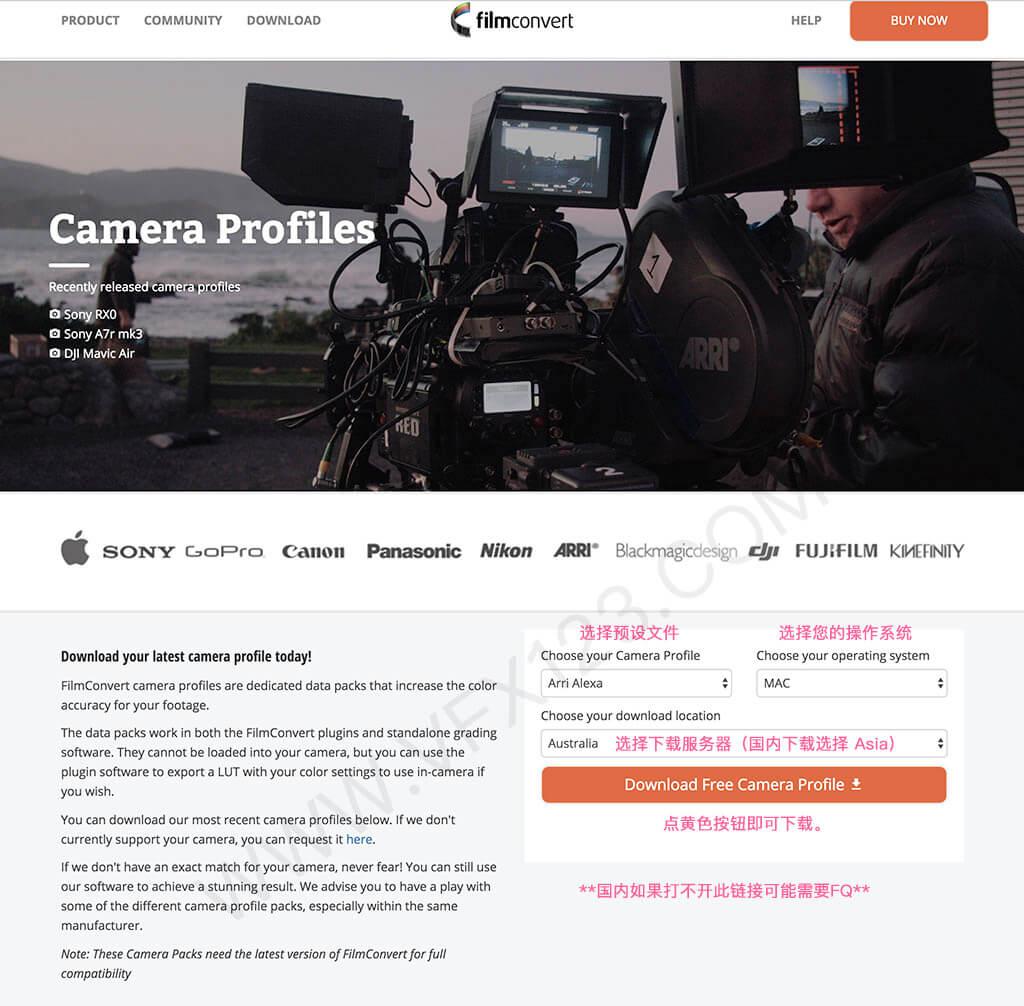FilmConvert Pro 2.39 数字转胶片电影调色插件