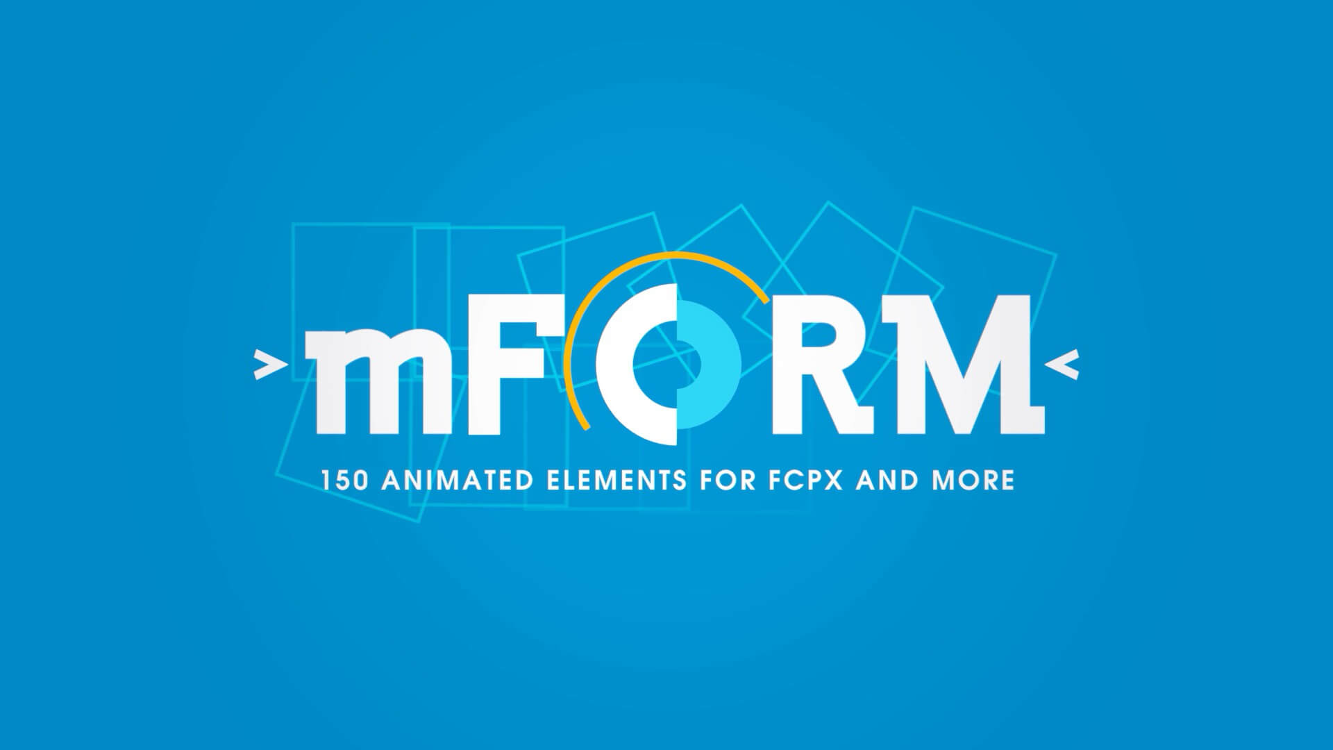 fcpx插件 150个装饰MG图形动画元素 支持M1 Motionvfx mForm