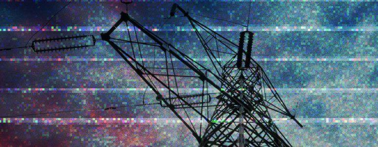 TranStatic 信号噪波图像闪烁干扰特效 FCPX转场
