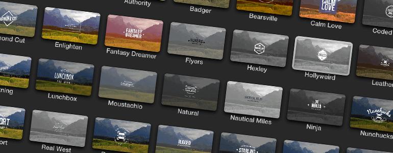 ProIntro Indie 30种文字标题动画插件支持中文