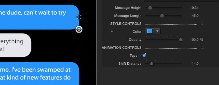 ProMessage 2 手机短信对话弹窗气泡效果插件