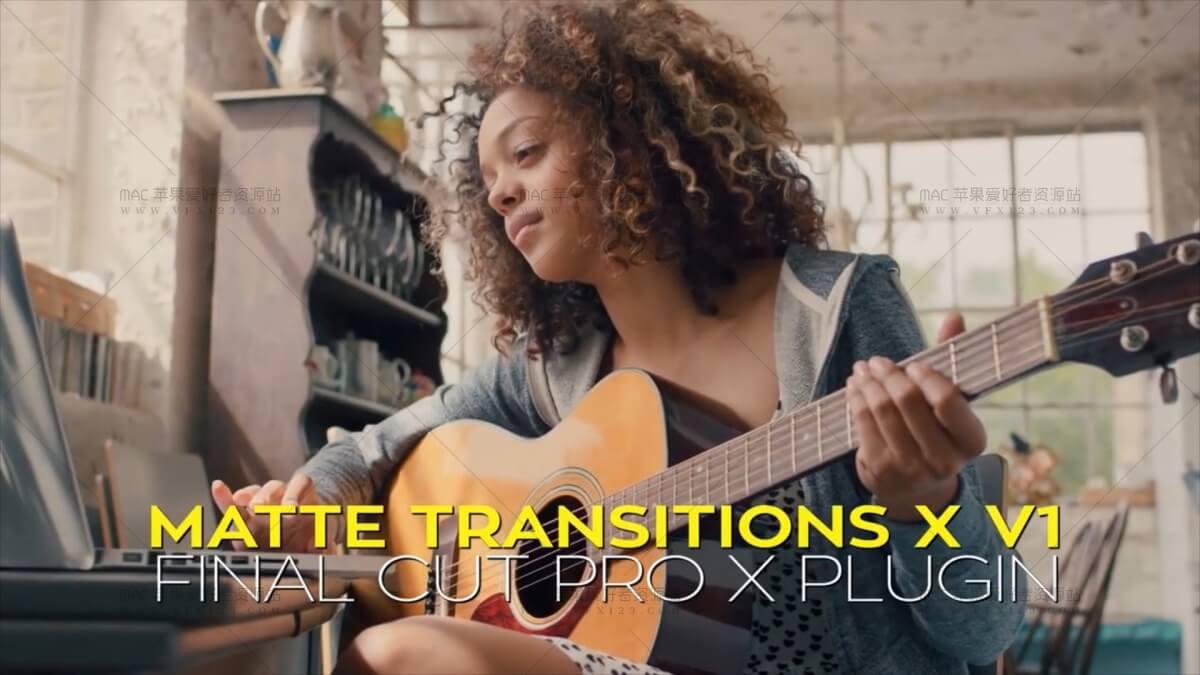 40种多边形图形遮罩转场第1季 - Matte Transitions X v1