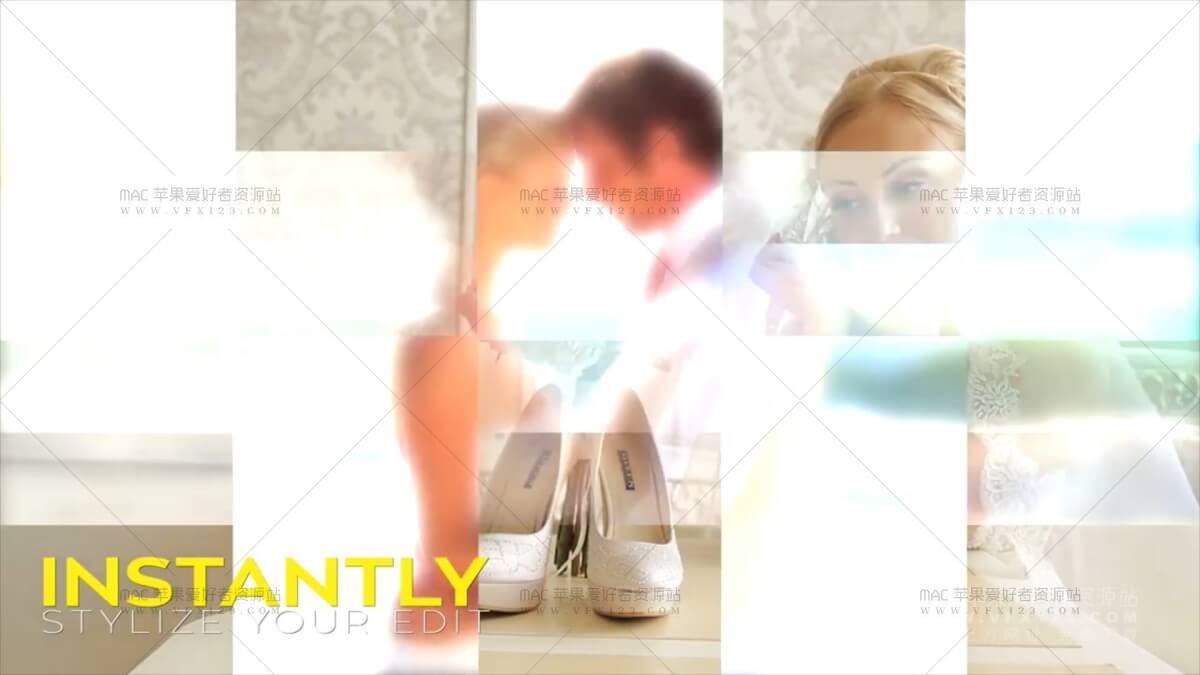 40种多边形图形遮罩转场第1季 - Matte Transitions X v1 多边形图形遮罩转场