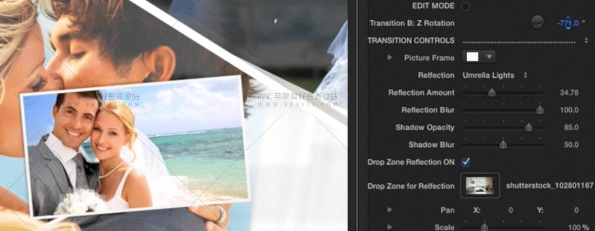 TransPic 多张图片叠加动态切换 FCPX转场插件+使用教程