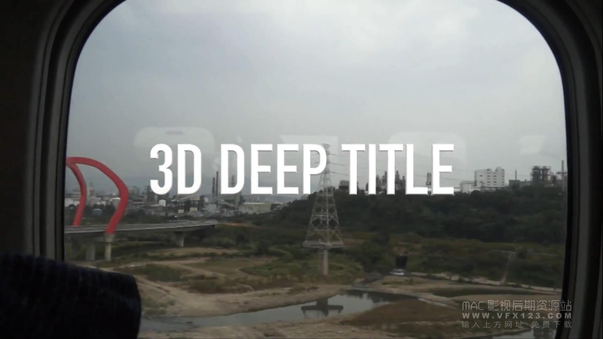 第34课: Final Cut Pro X的免费3D字幕与背景素材