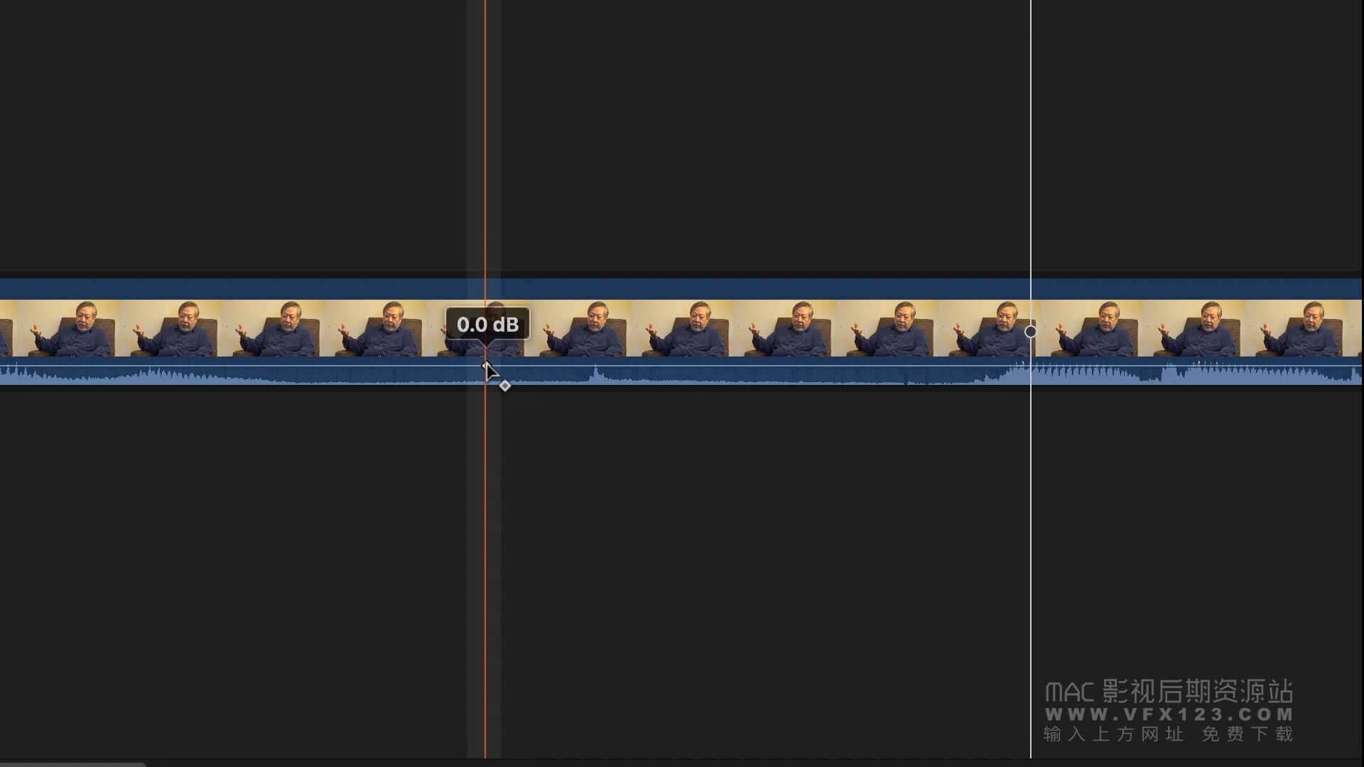 第49课: 如何在Final Cut Pro X中快速修饰声音