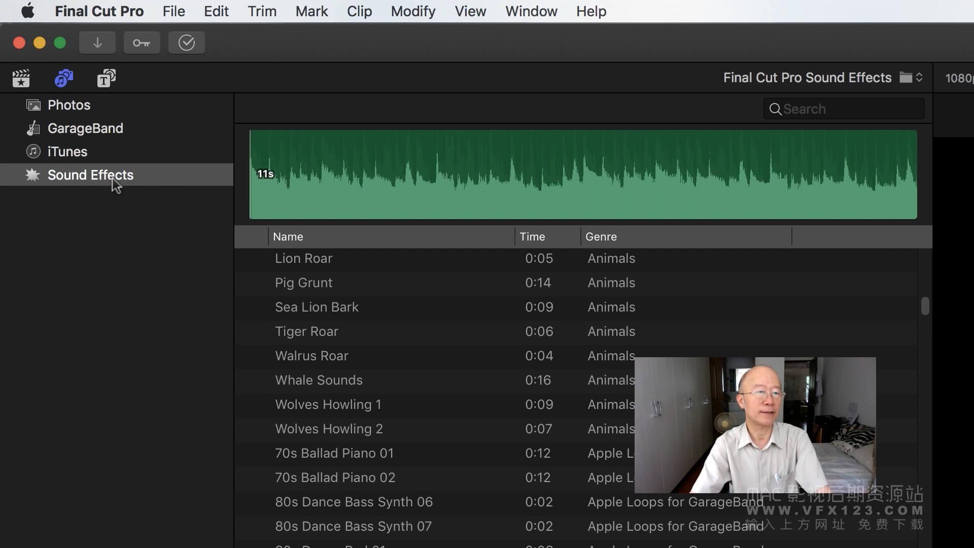 第54课:Final Cut Pro X中如何建立自定义音乐库