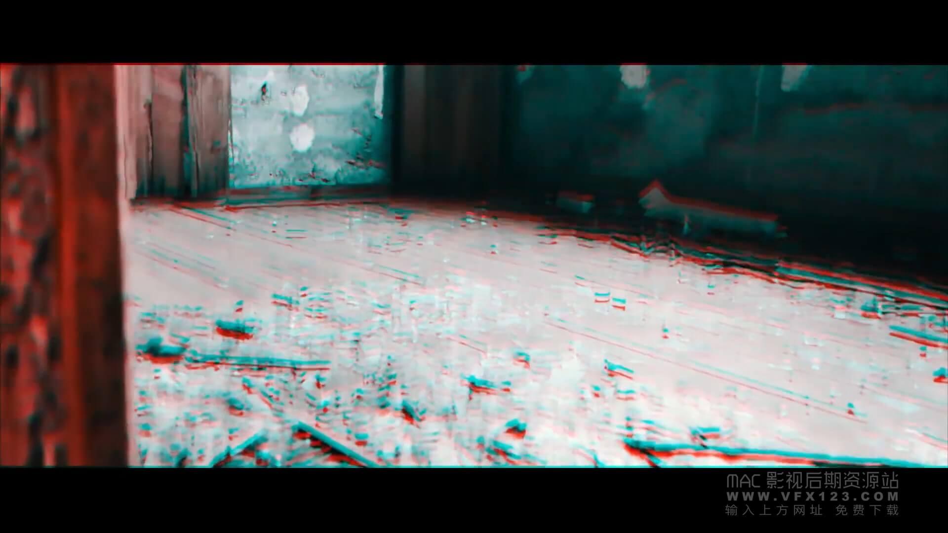视频干扰效果 Vlog视频制作工具 Glitch Effects Pack FCPX插件