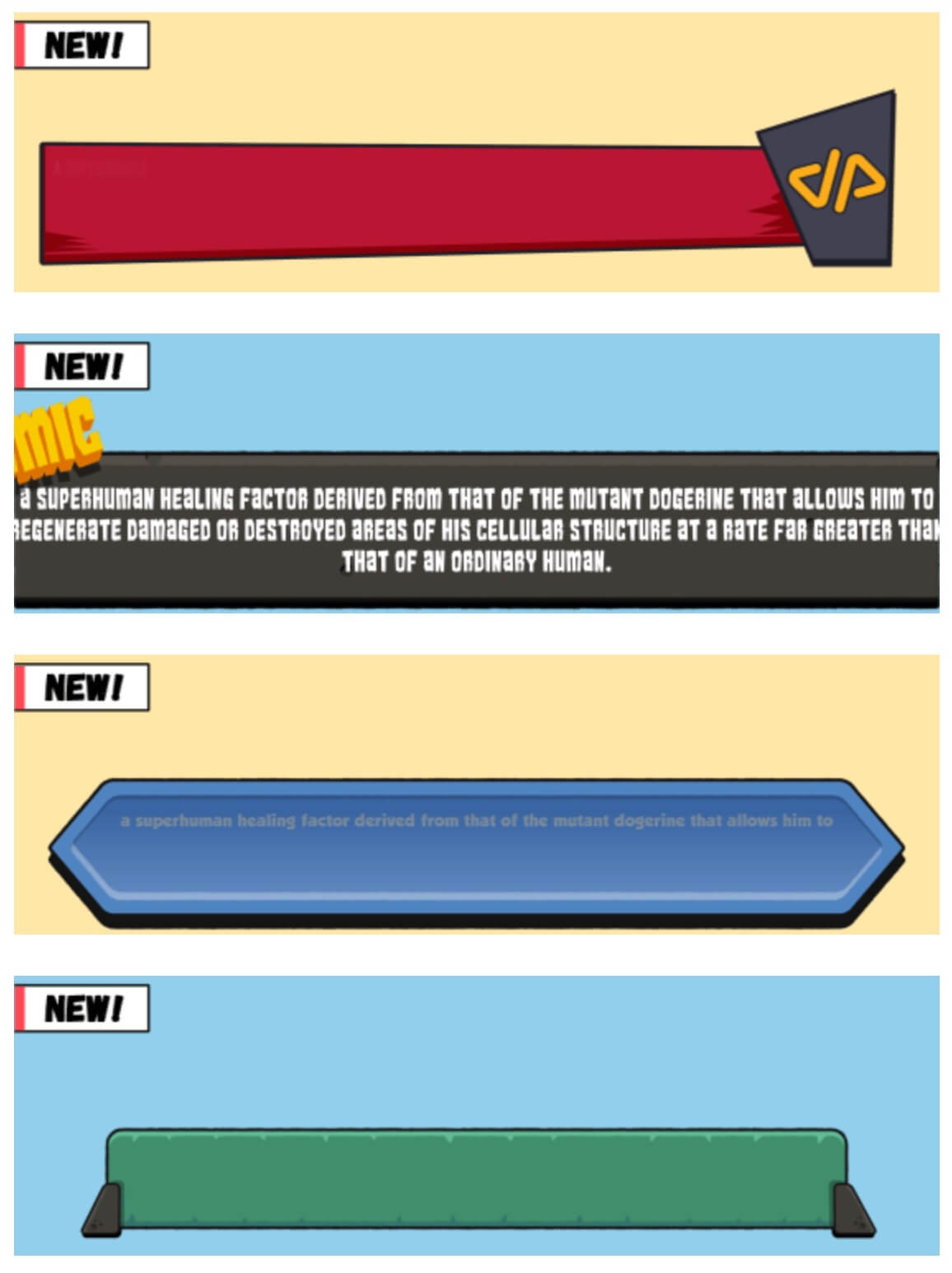 卡通动漫LOGO标题转场字幕条包装动画包 Comic Edition V2 + 使用教程 FCPX插件
