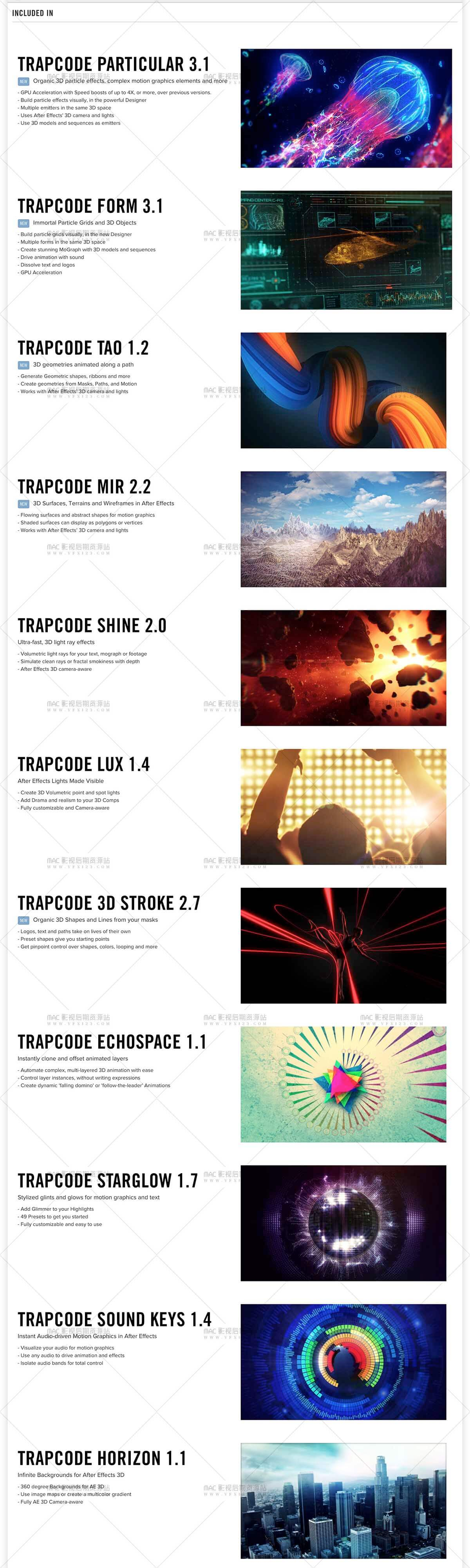 Red Giant Trapcode Suite 14.1.2 红巨人粒子套装插件包最新版