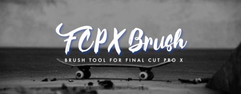 FCPX笔刷勾勒绘画描边自制效果插件 Brush 附使用参考教程