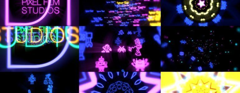 FCPX动感绚丽舞台背景VJ视觉特效插件 PRODROP LIGHT SHOW