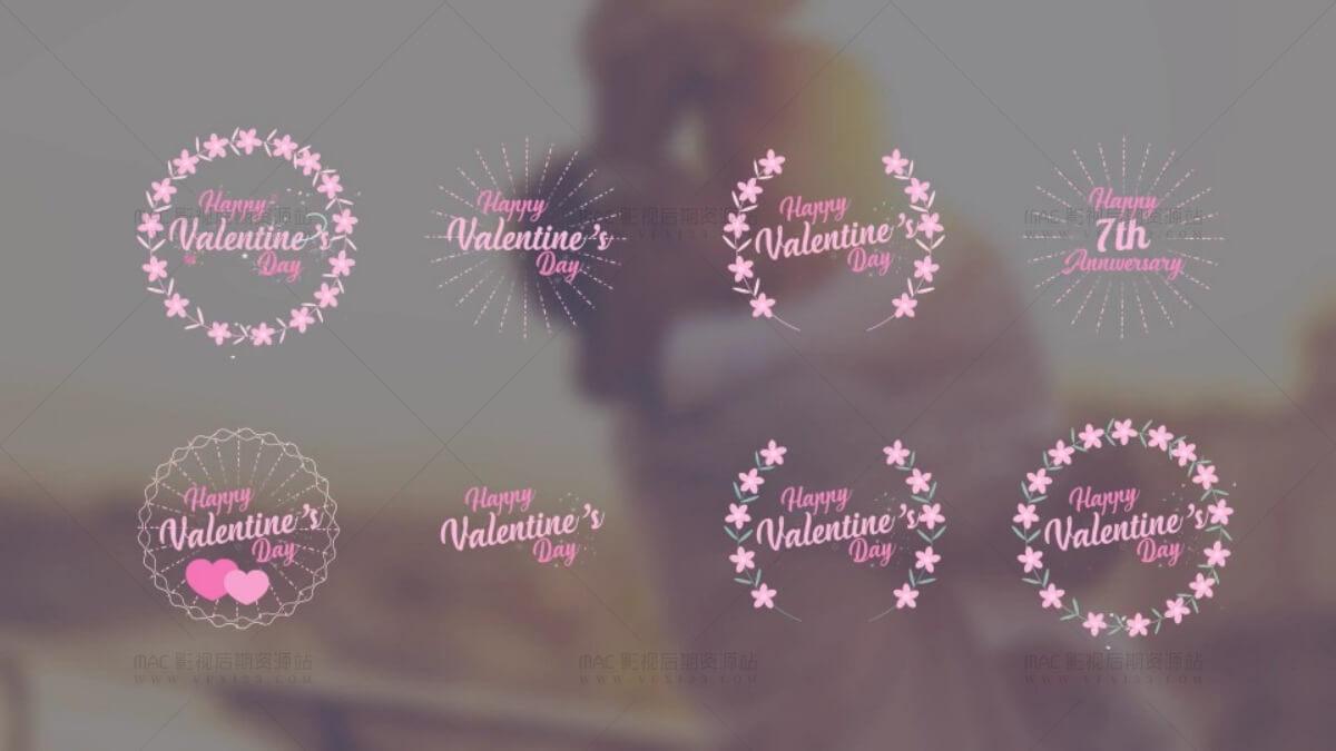 婚礼mv制作软件免费_婚礼标题AE模板 33个唯美浪漫字幕标题排版动画 MAC影视后期资源站