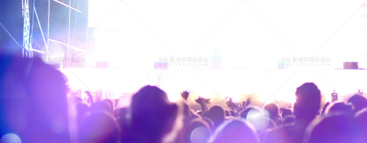 FCPX光斑闪光插件 ProBokeh 30个舞台炫光素材