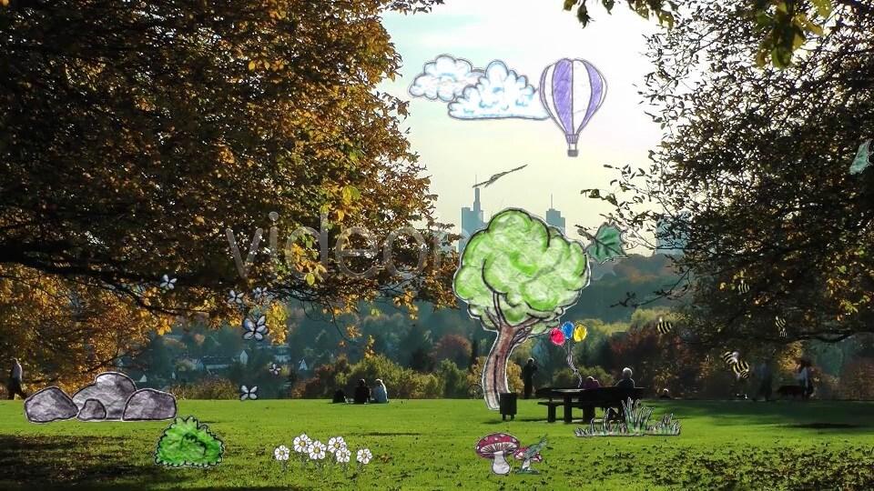 61个纸张涂鸦动画元素 卡通儿童类栏目包装素材