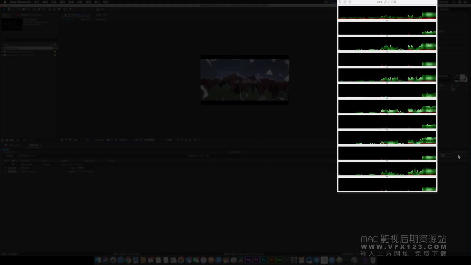 AE渲染加速设置方法 AE集群渲染 渲染速度质的提升 WIN和MAC通用