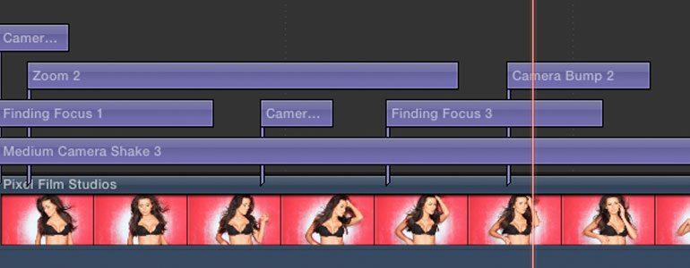 FCPX相机抖动效果插件 ProShake 制作震动变焦扭曲效果