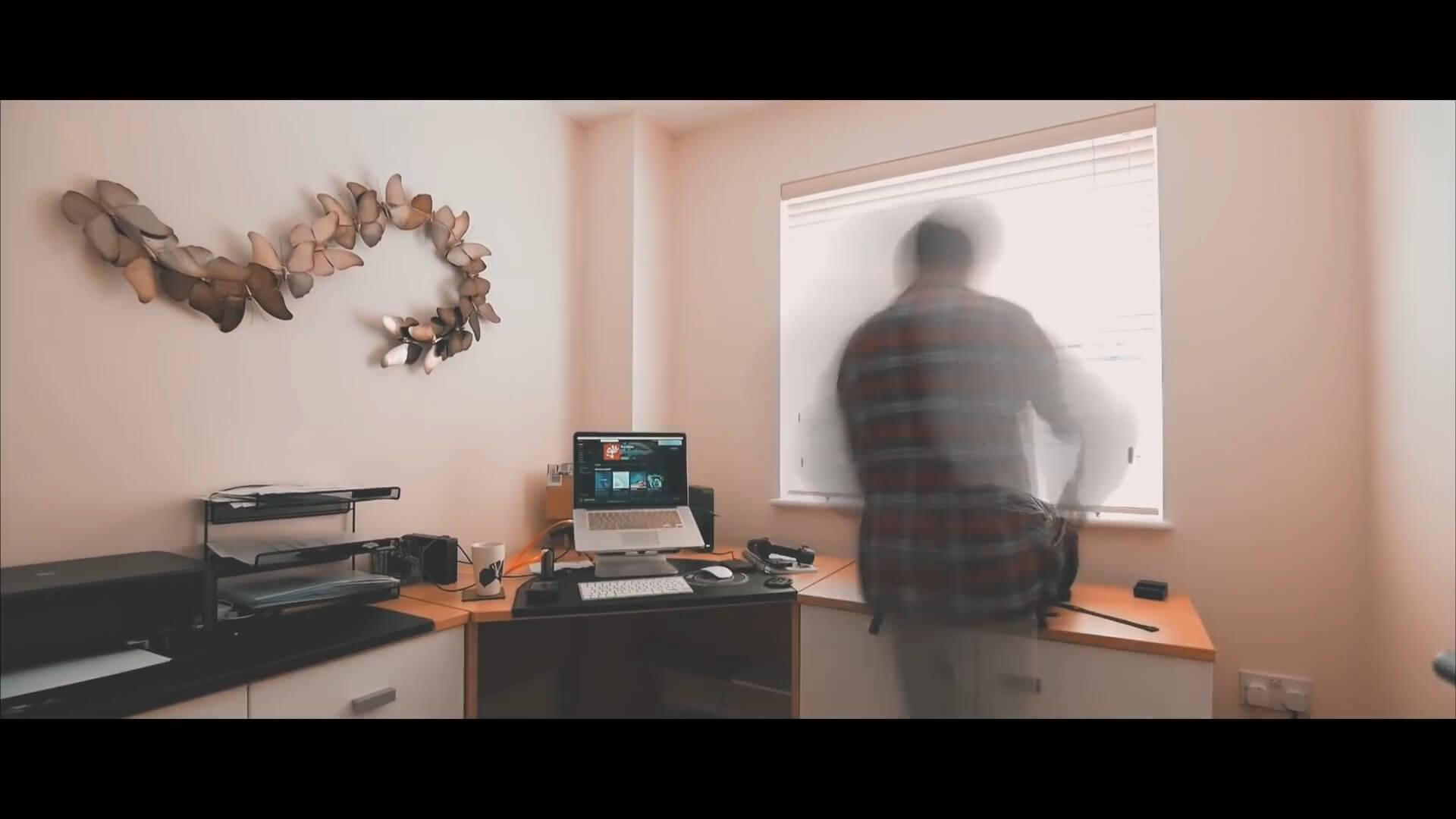 FCPX动态模糊插件 制作人物拖影效果 Vlog常用效果