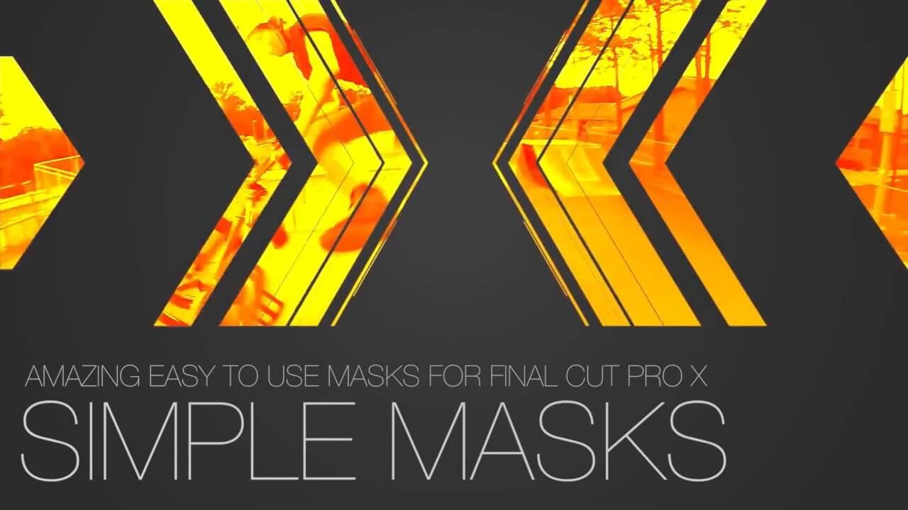 FCPX图形蒙版遮罩效果插件 ProPanel Vol.1 30种遮罩效果