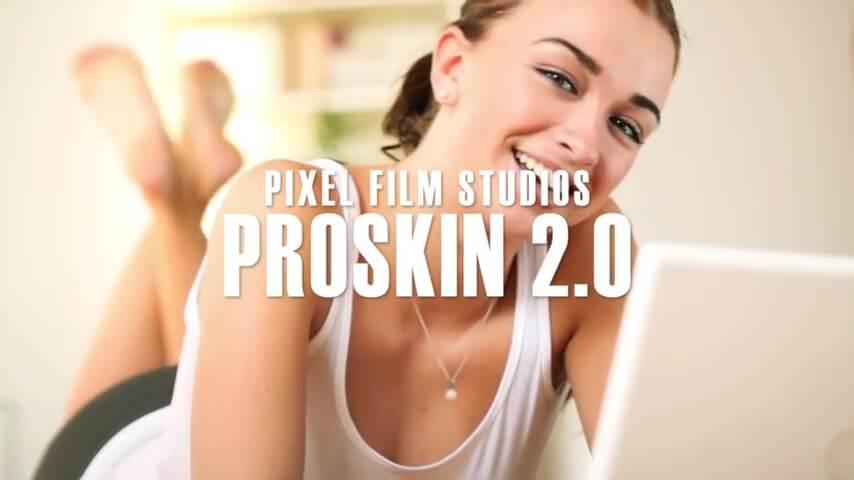 FCPX磨皮柔肤插件 ProSkin 2.0 免费下载