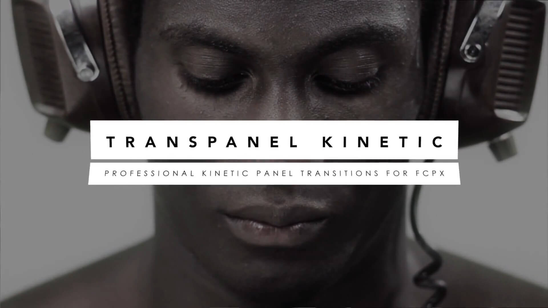 FCPX三维空间图文翻转过渡插件 TransPanel Kinetic