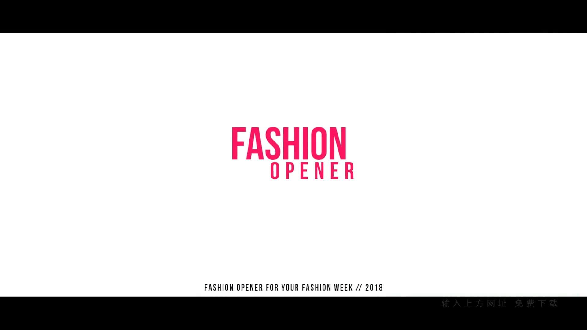 Fcpx主题模板 现代流行写真图文展示 motion模板 Fashion Opener