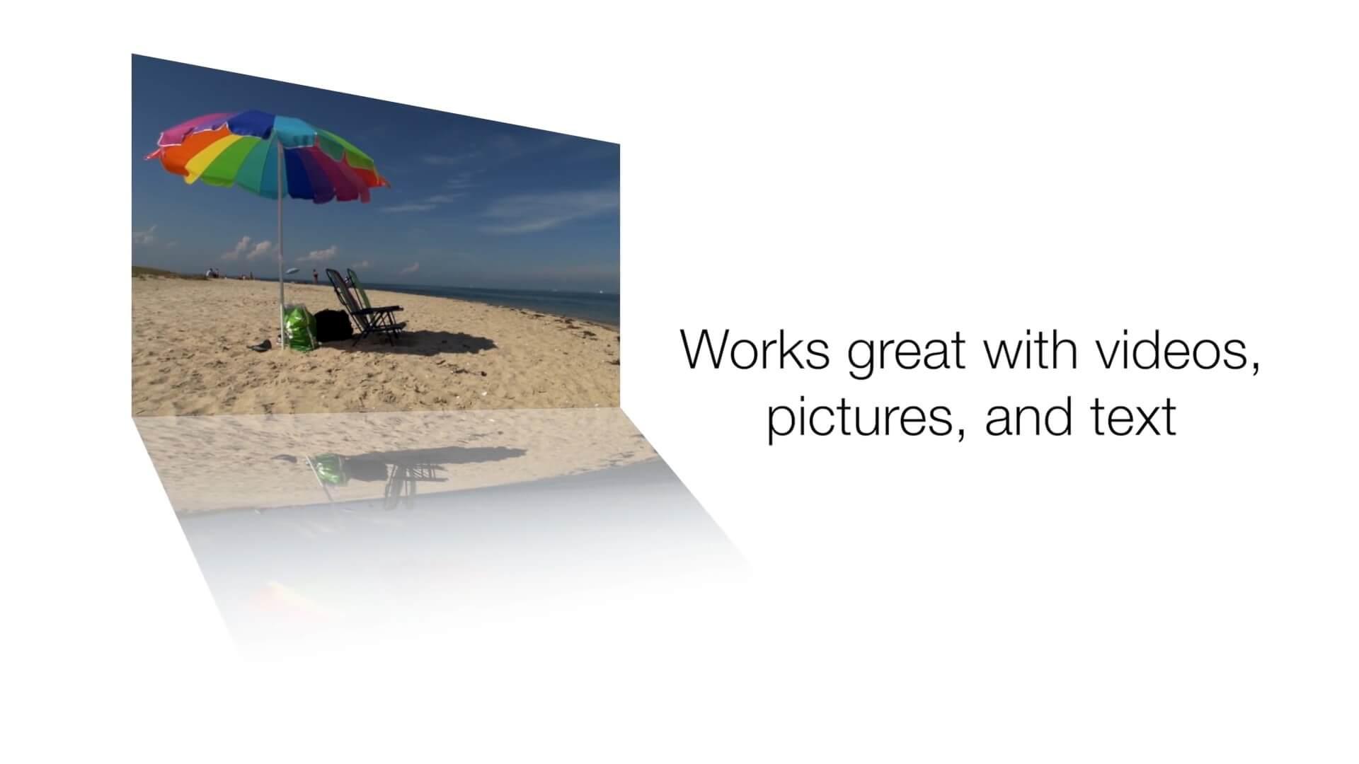 fcpx镜面反射倒影插件 15个预设效果 FCPeffects Reflect