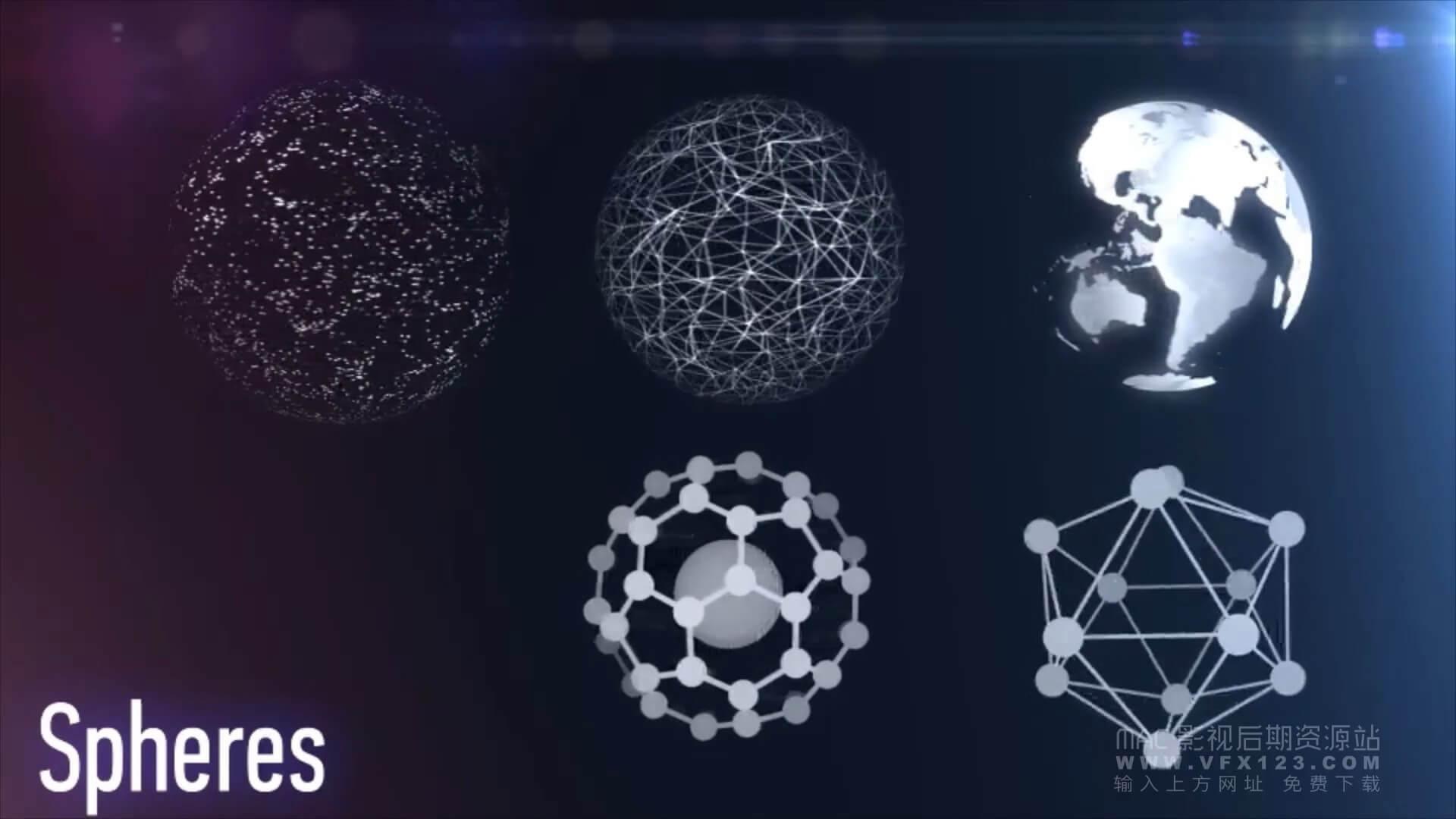 149个触屏HUD元素集合 高科技数据几何信息图表科幻技术等