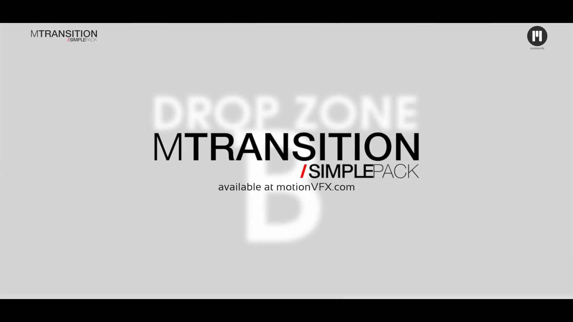 50种FCPX简洁图形遮罩转场动画插件 mTransition Simple Pack