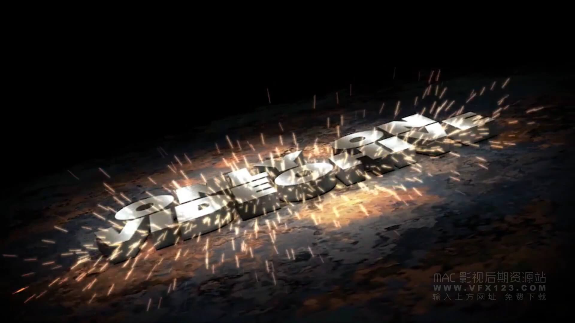 fcpx主题模板 震撼动作体育游戏类电影预告片 Metal Impact