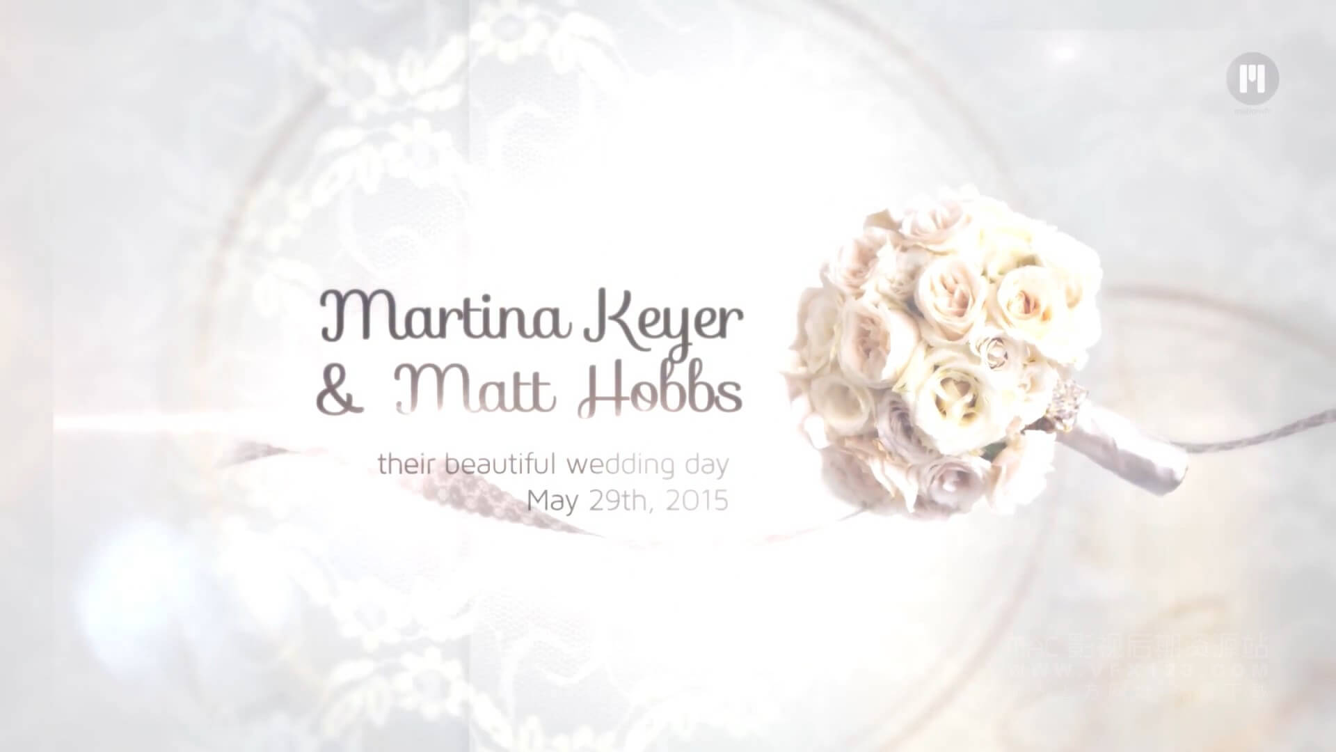 fcpx插件 20个浪漫婚礼标题文字动画模板 mTitle Wedding Pack | MAC影视后期资源站