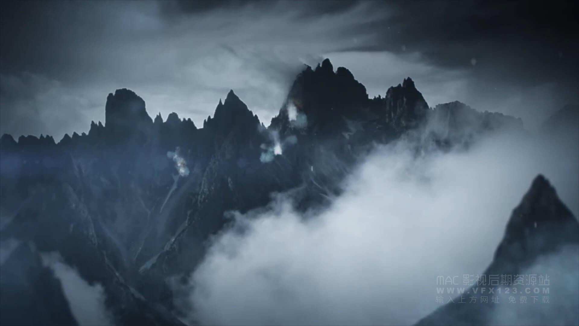 视频素材 100个灰尘粉末粒子烟雾4K视频特效合成素材 Mojave