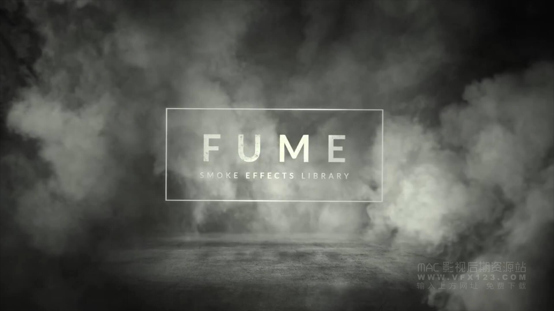 视频素材 180组4K烟囱烟雾环绕飘动高清特效合成视频素材 Fume smoke