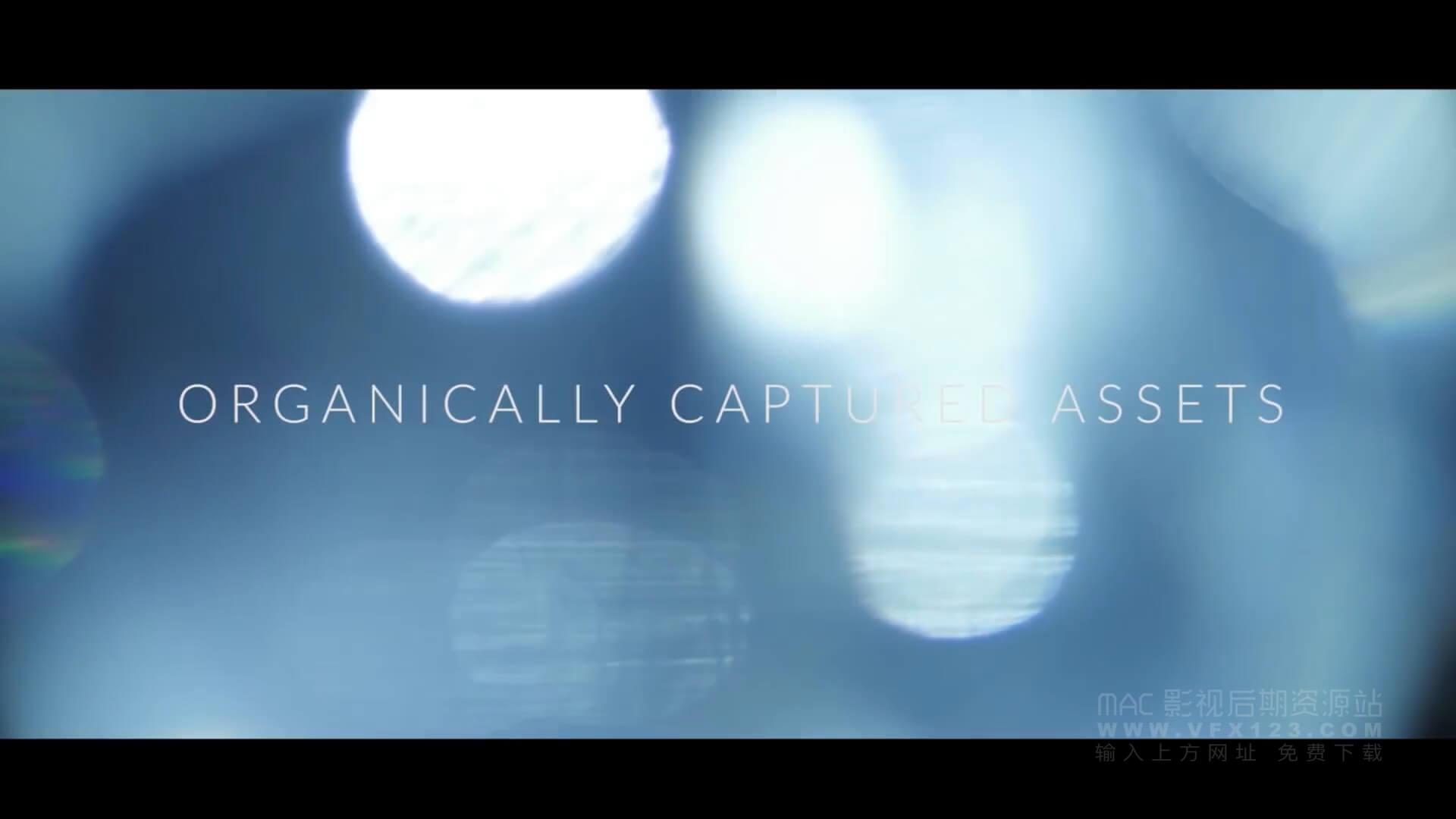 视频素材 120个4K唯美漂亮小清新镜头炫光大光斑转场动画