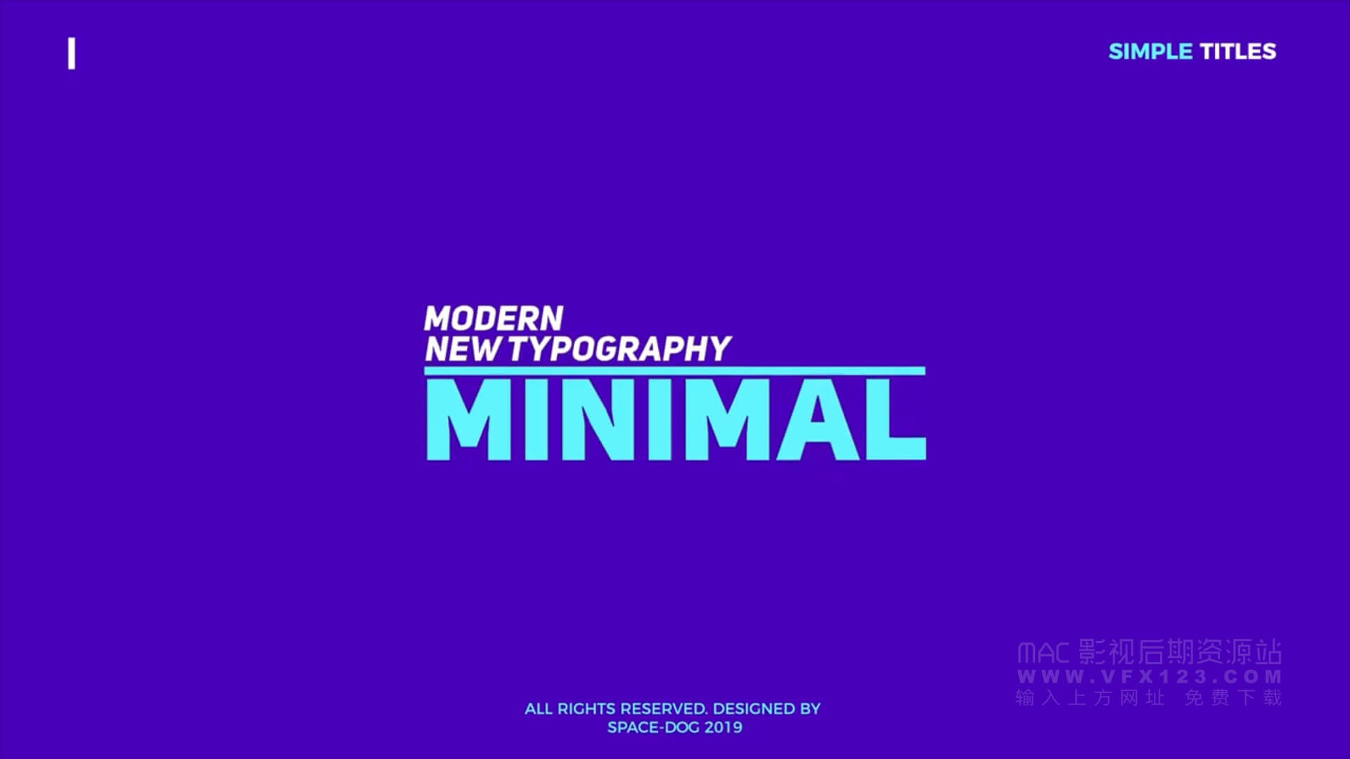 Fcpx插件 25个现代时尚简洁文字标题设计排版动画 Simple Titles | MAC影视后期资源站