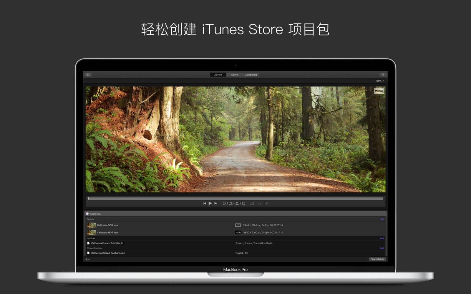 Apple Compressor 4.4.3 破解版免费下载 中英文版 苹果视频压缩编码转码输出软件