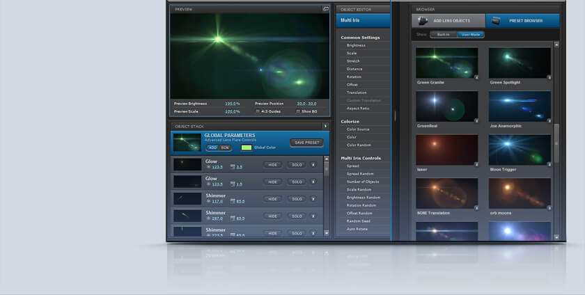 AE镜头光晕耀斑插件 Optical Flares v1.3.5+Pro Flares 1+2等预设包 WIN+MAC版