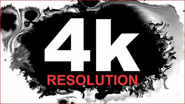 视频素材 170个水墨滴落晕开扩散动画 4K分辨率 ink drop
