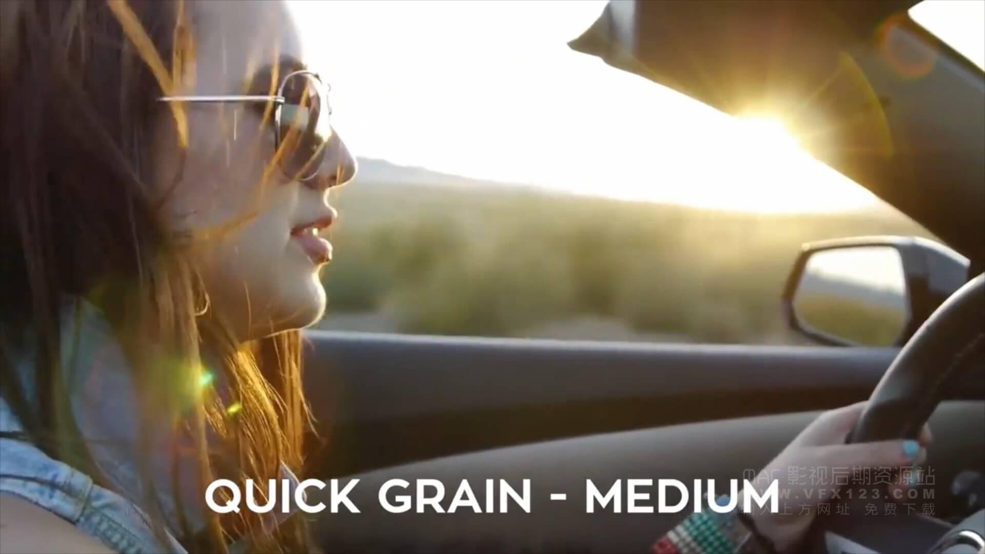 Fcpx插件 vlog视频制作常用转场特效宽银幕调色扭曲复古暗角调节层色彩分离抖音效果等