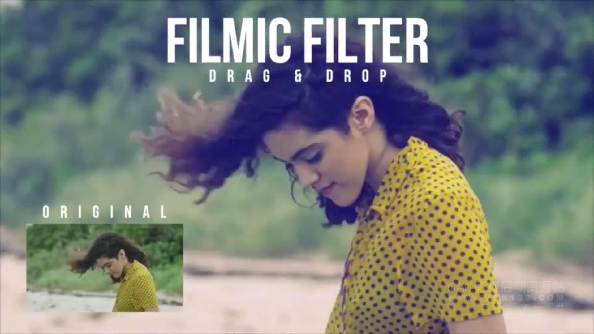 Motion模板 50种视频调色滤镜预设 50 Great Filters+使用教程 | MAC影视后期资源站