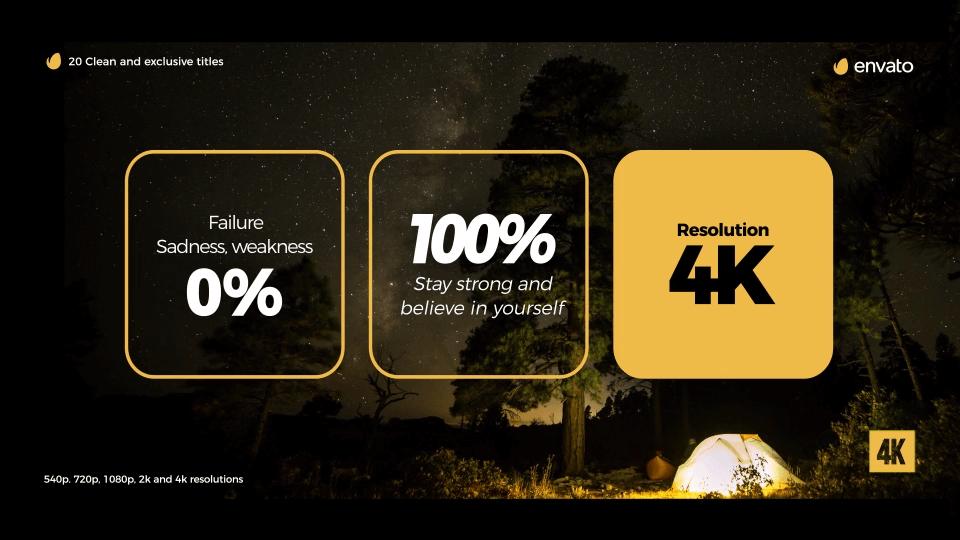 Fcpx插件 20个简约时尚4K金色标题排版动画 Gold Clean Titles | MAC影视后期资源站