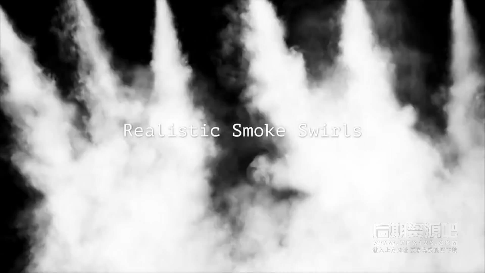 fcpx转场插件 64个4K烟雾散开吹散效果 Vlog常用转场 Smoke Transitions