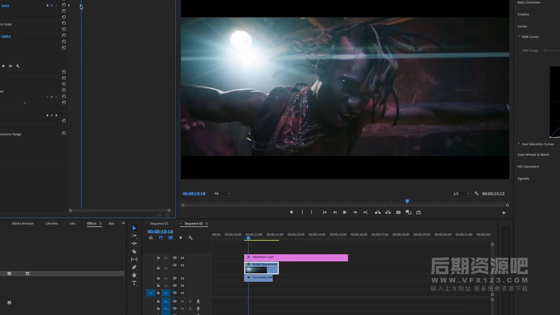 光效视频素材 300+科幻动作电影包装变形镜头光晕耀斑光斑