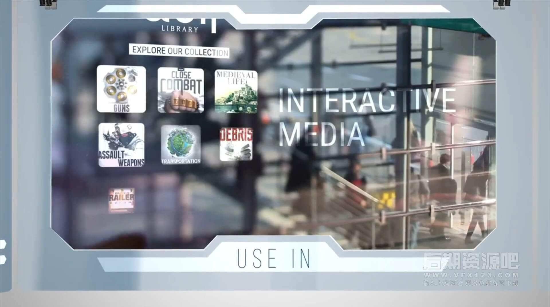 音效素材 高科技HUD用户UI界面点击选择滑动无损音效 modern UI| MAC影视后期资源站