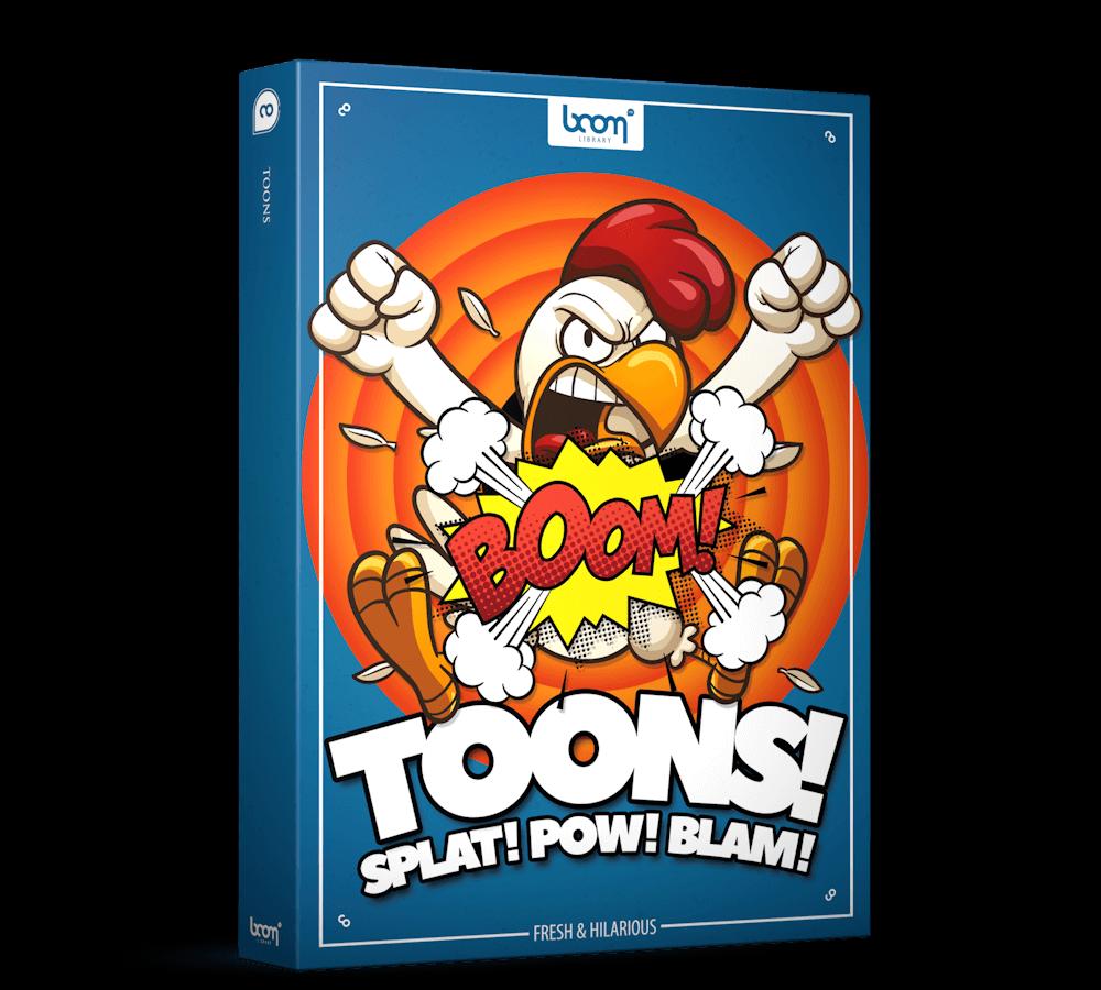 音效素材 3306个卡通动漫综艺搞笑喜剧欢乐有趣无损配乐音效 TOONS