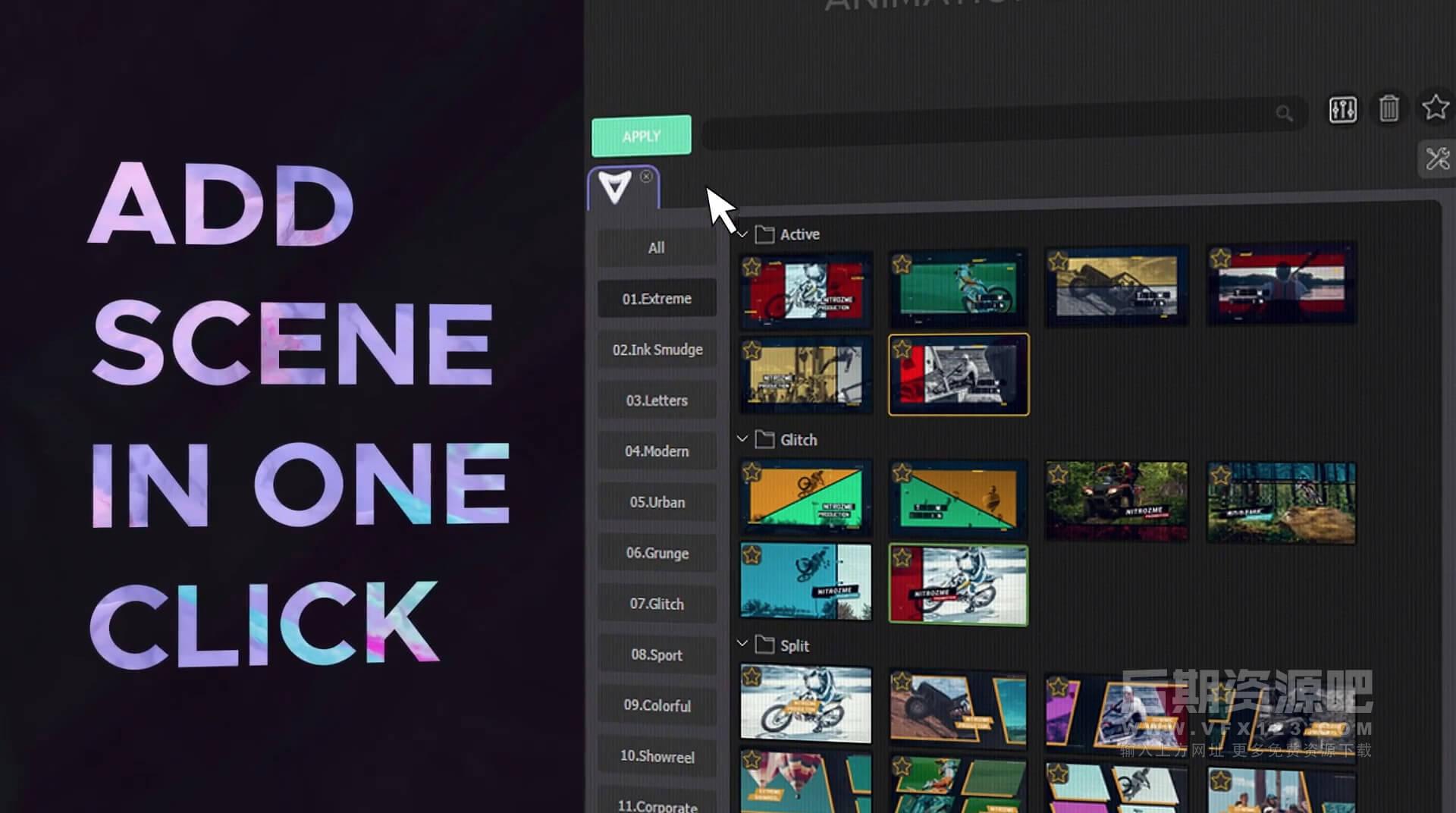 Ae模板 1700组17大类视频特效动画预设集合 Video Library V4.2