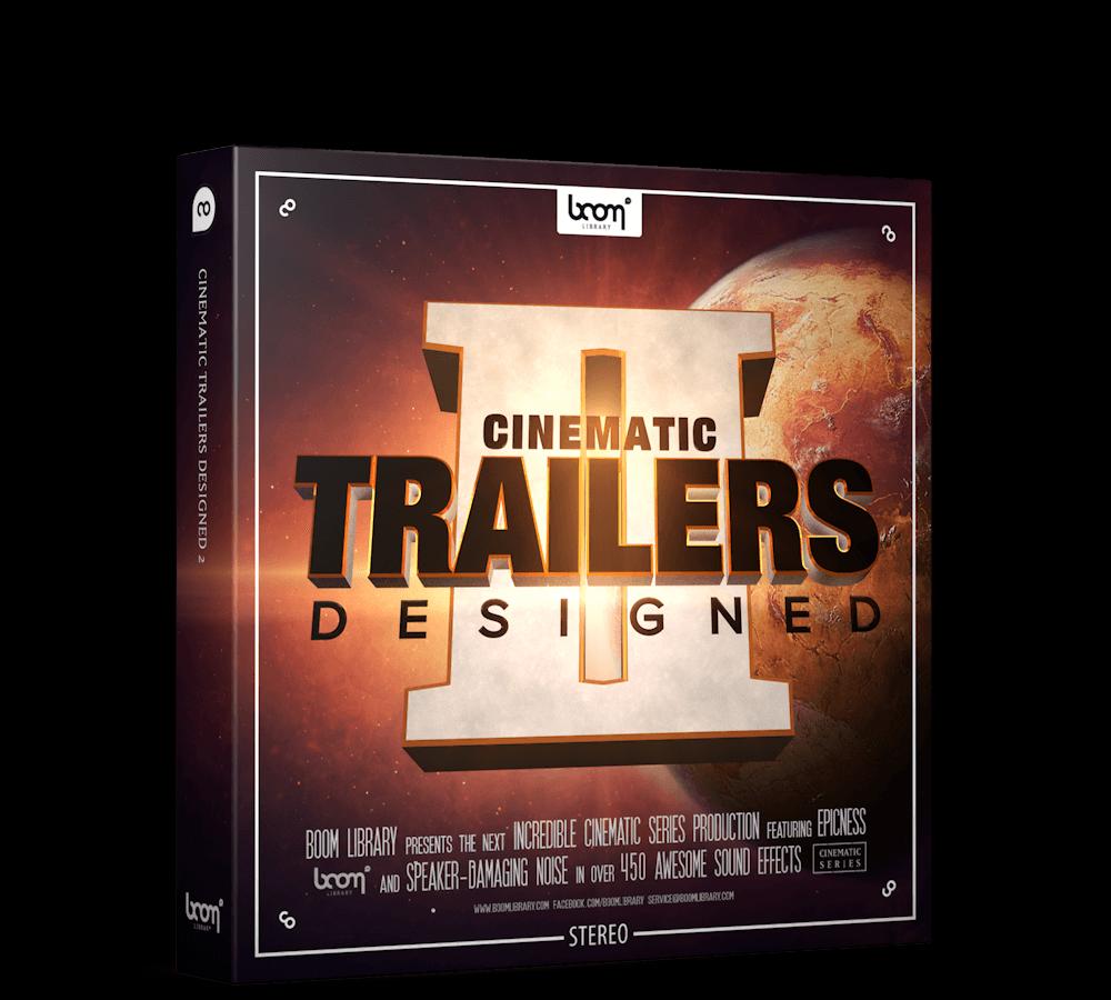 音效素材 492个震撼史诗电影游戏预告片撞击音效 CINEMATIC TRAILERS 第二季