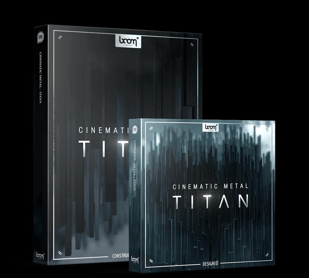 音效素材 震撼电影预告片金属碰撞紧张气氛无损音效 Cinematic Metal Titan