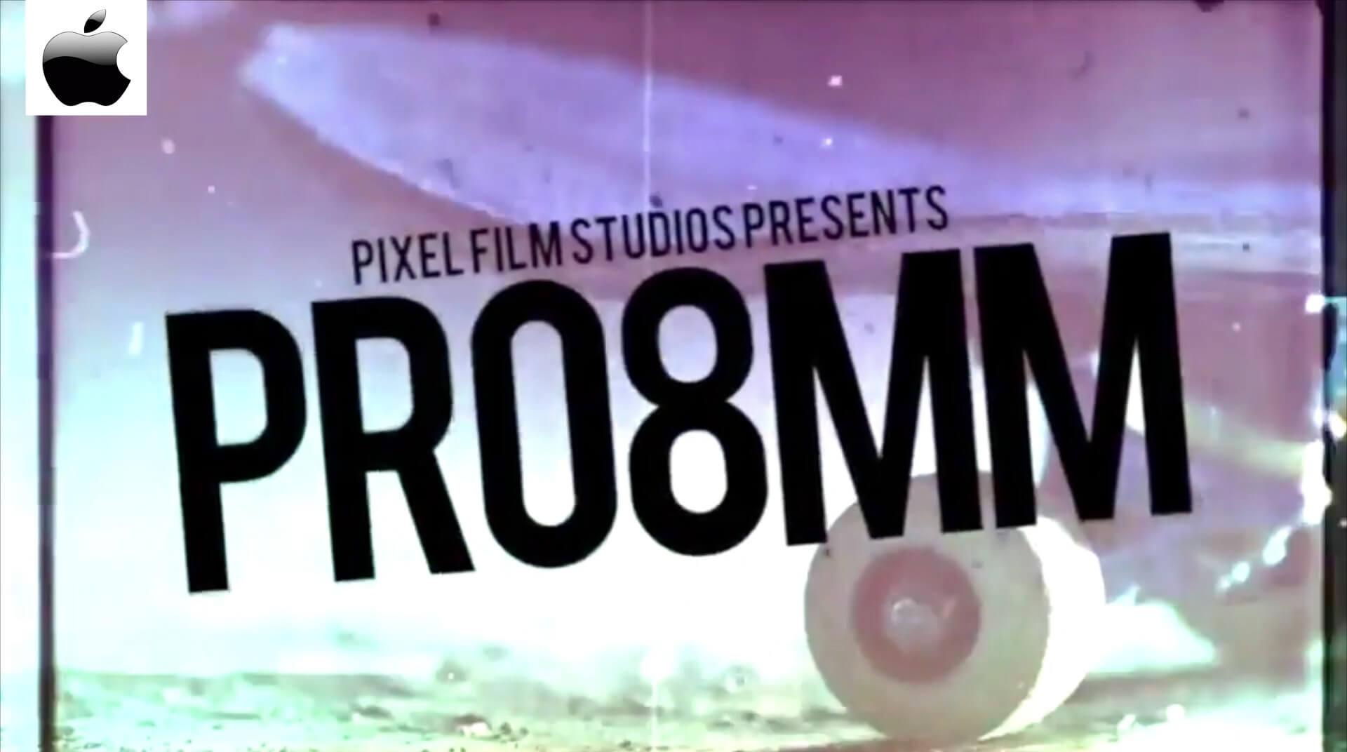 Fcpx效果插件 8毫米电影胶片复古风格化视觉效果 PRO8MM 免费下载
