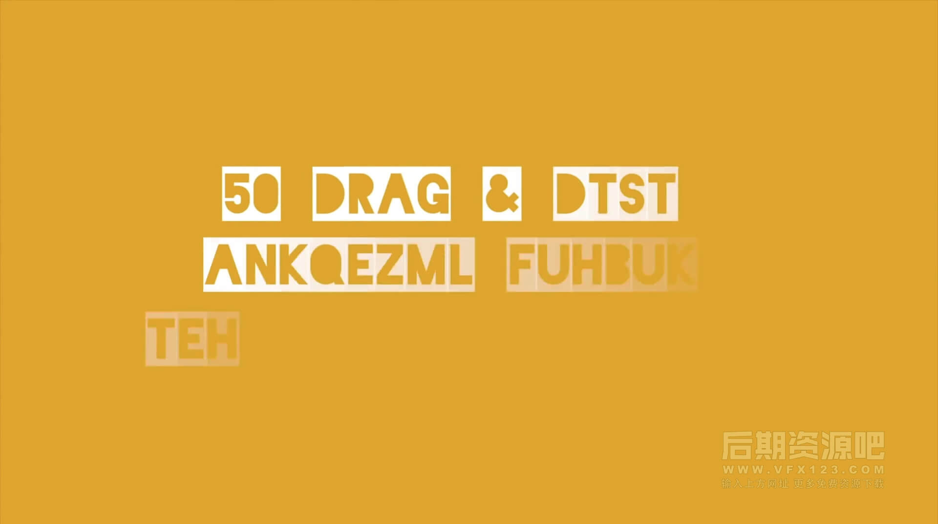 Fcpx标题插件 50个弹跳抖动光晕扫光可爱有趣字幕动画 vlog标题模板 | MAC影视后期资源站